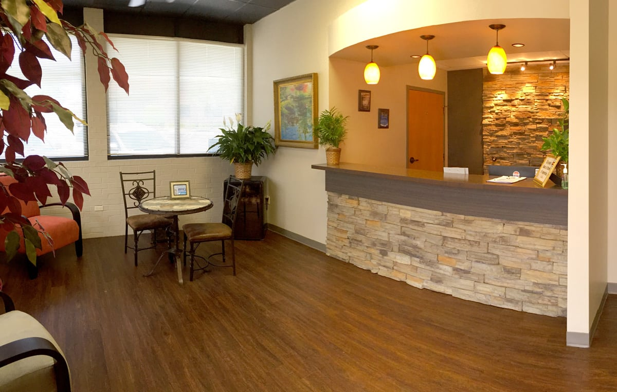 Preferred Counseling Lobby Reception Desk