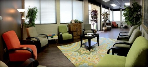Preferred Counseling's waiting area and lobby