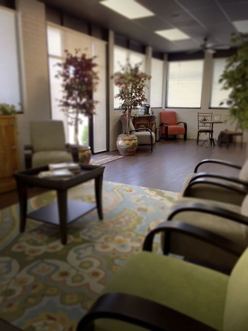Preferred Counseling's waiting area